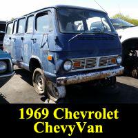 Junkyard 1969 Chevrolet ChevyVan