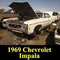 Junkyard 1969 Chevrolet Impala