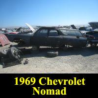 Junkyard 1969 Chevrolet Chevelle wagon