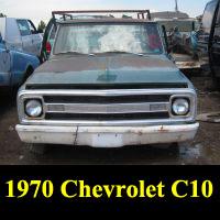 Junkyard 1970 Chevrolet C10