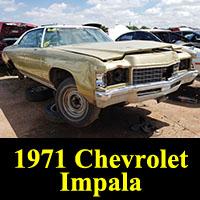 Junkyard 1971 Chevrolet Impala