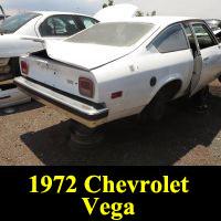 Junkyard 1972 Chevrolet Vega