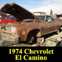 Junkyard 1974 El Camino