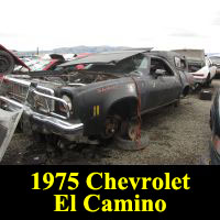 Junkyard 1975 Chevrolet El Camino