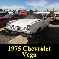 Junkyard 1975 Chevrolet Vega