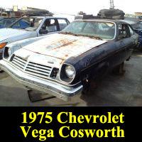 Junkyard 1975 Chevrolet Cosworth Vega