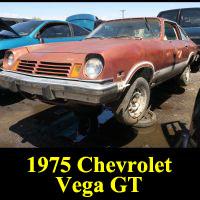 Junkyard 1975 Chevrolet Vega GT