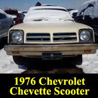 Junkyard 1976 Chevrolet Chevette Scooter