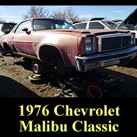Junkyard 1976 Chevrolet Malibu Classic