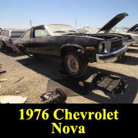 Junkyard 1976 Chevrolet Nova