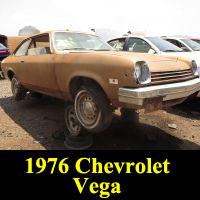 Junkyard 1976 Chevrolet Vega