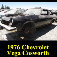 Junkyard 1976 Chevrolet Cosworth Vega