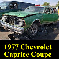 Junkyard 1977 Chevrolet Caprice Classic Coupe