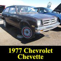 Junkyard 1977 Chevrolet Chevette