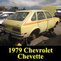 Junkyard 1979 Chevrolet Chevette