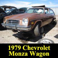 Junkyard 1979 Chevrolet Monza wagon