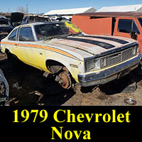 Junkyard 1979 Chevrolet Nova