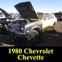 Junkyard 1980 Chevrolet Chevette
