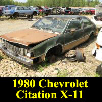 Junkyard 1980 Chevrolet Citation X-11