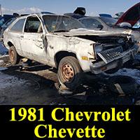 Junkyard 1981 Chevrolet Chevette