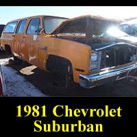 Junkyard 1981 Chevrolet Suburban
