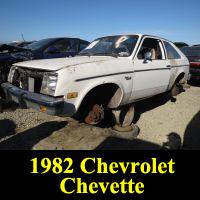 Junkyard 1982 Chevrolet Chevette
