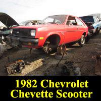 Junkyard 1982 Chevrolet Chevette Scooter