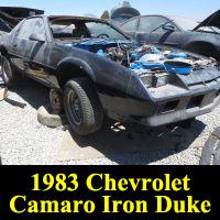 Junkyard 1983 Chevrolet Camaro