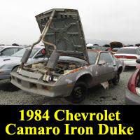 Junkyard 1984 Chevrolet Camaro