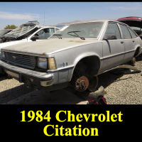 Junkyard 1984 Chevrolet Citation