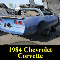 Junkyard 1984 Chevrolet Corvette