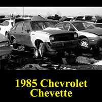 Junkyard 1985 Chevrolet Chevette