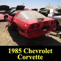 Junkyard 1985 Chevrolet Corvette