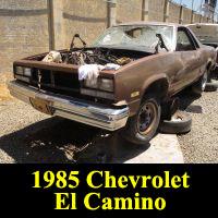 Junkyard 1985 Chevrolet El Camino