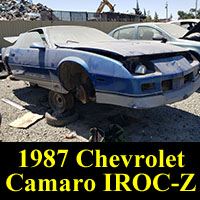 Junkyard 1987 Chevrolet Camaro IROC-Z