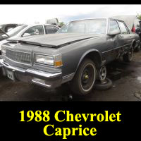 Junkyard 1988 Chevrolet Caprice