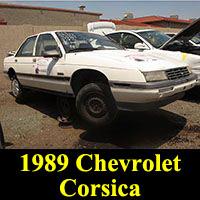Junkyard 1989 Chevrolet Corsica
