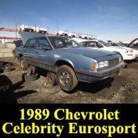 Junkyard 1989 Chevrolet Celebrity