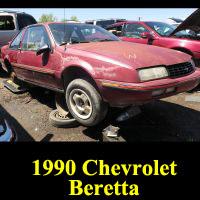 Junkyard 1990 Chevrolet Beretta