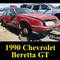 Junkyard 1990 Chevrolet Beretta GT