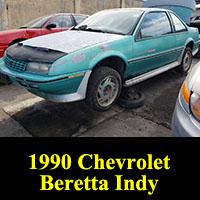Junkyard 1990 Chevrolet Beretta Indy Edition