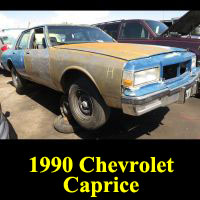 Junkyard 1990 Chevrolet Caprice