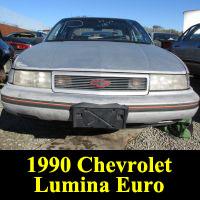 Junkyard 1990 Chevrolet Lumina Euro 3.1