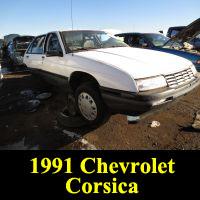 Junkyard 1991 Chevrolet Corsica