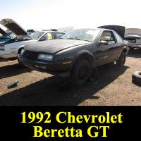 Junkyard 1992 Chevrolet Beretta GT