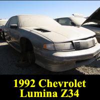 Junkyard 1992 Chevrolet Lumina Z34