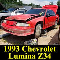 Junkyard 1993 Chevrolet Lumina Z34