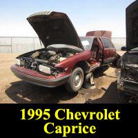 Junkyard 1995 Chevrolet Caprice