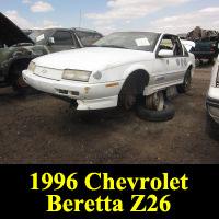 Junkyard 1996 Chevrolet Beretta Z26