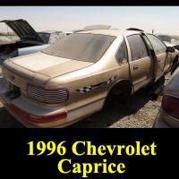 Junkyard 1996 Chevrolet Caprice